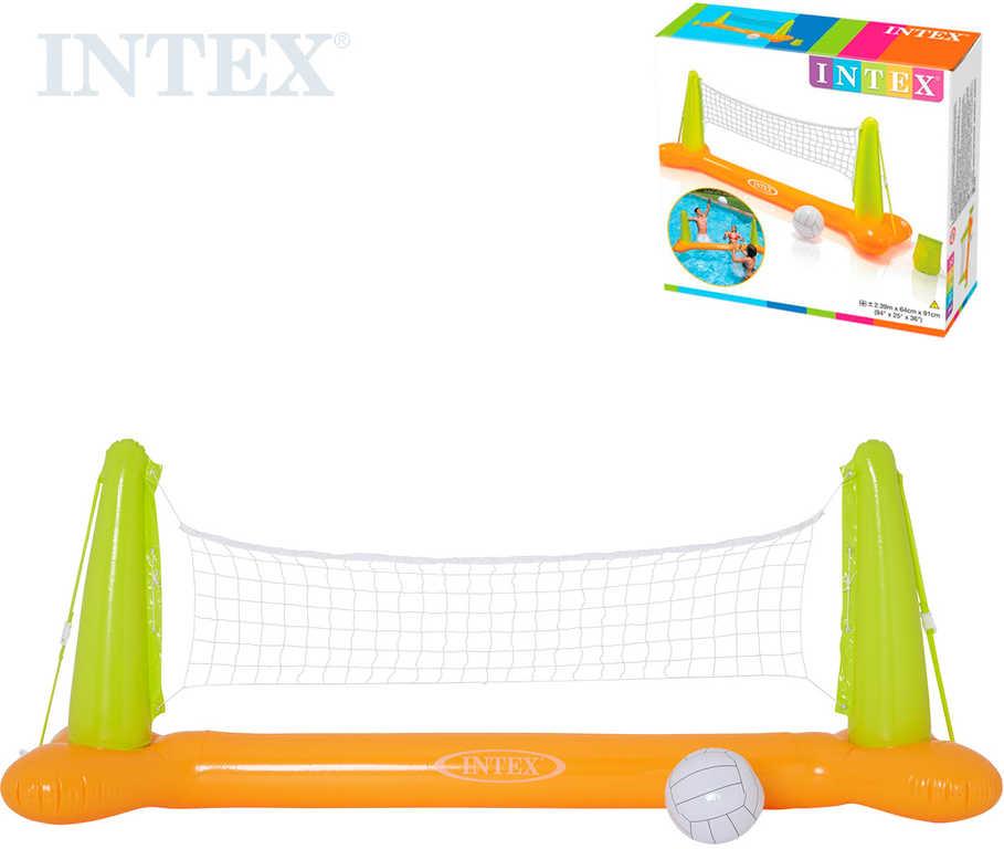 INTEX Nafukovací volejbal do vody set síť 239x64x91cm s míčem 56508