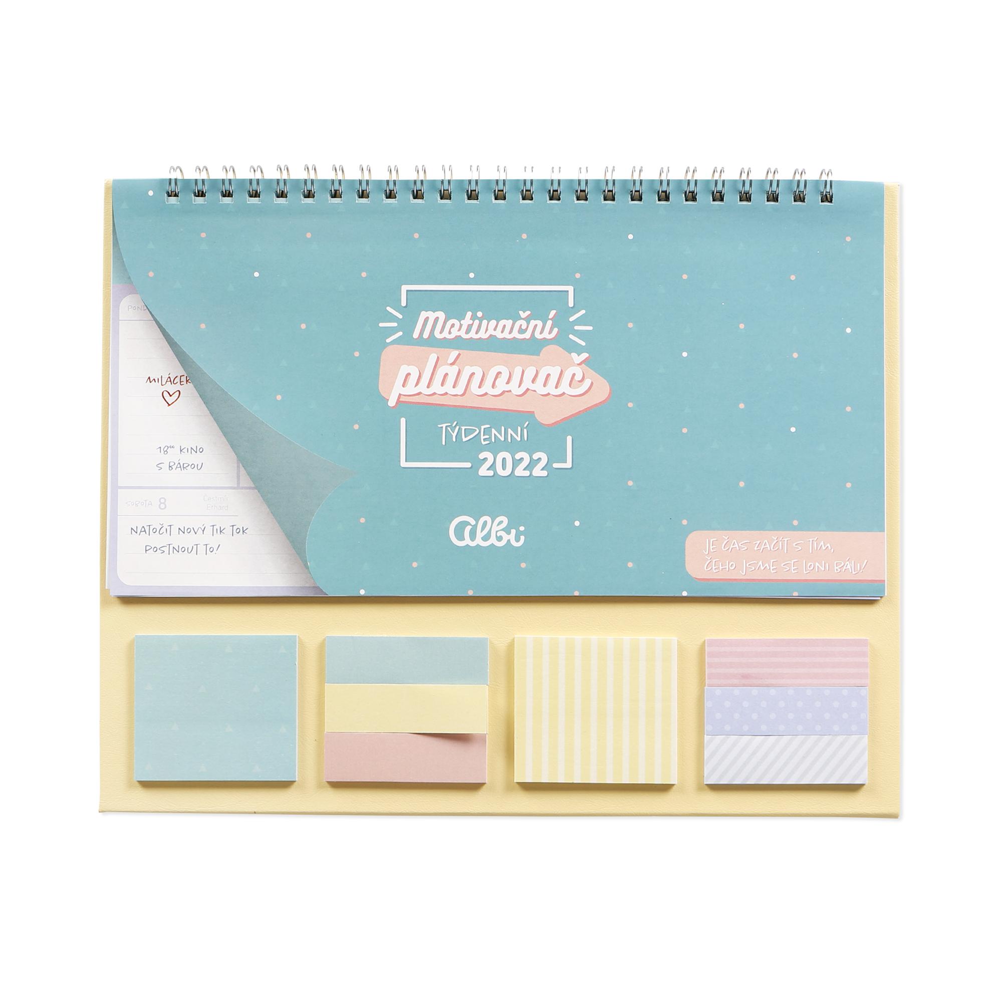 Stolní kalendář - Mint