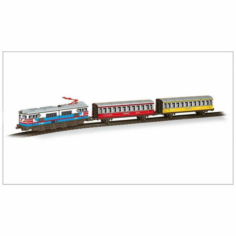 Pequetren PASSENGERS TRAIN COLORS – historický osobní vlak