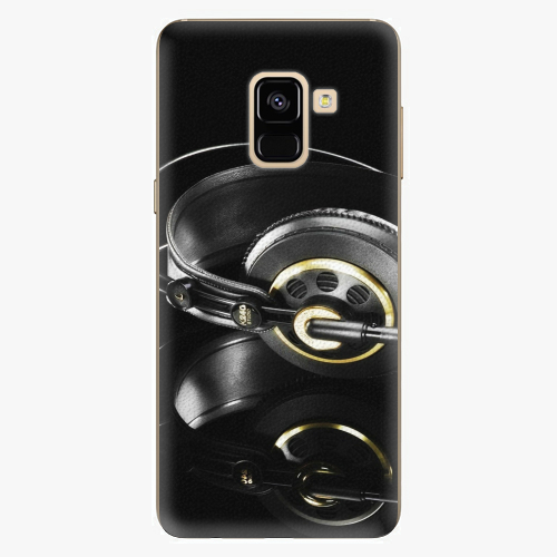 Plastový kryt iSaprio - Headphones 02 - Samsung Galaxy A8 2018
