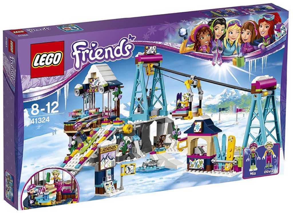 LEGO FRIENDS Lyžařský vlek 41324 STAVEBNICE