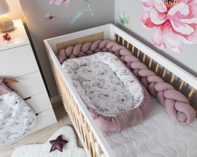 baby-nellys-oboustranne-hnizdecko-kokon-vafel-bavlna-lux-60-x-90-cm-magnolie
