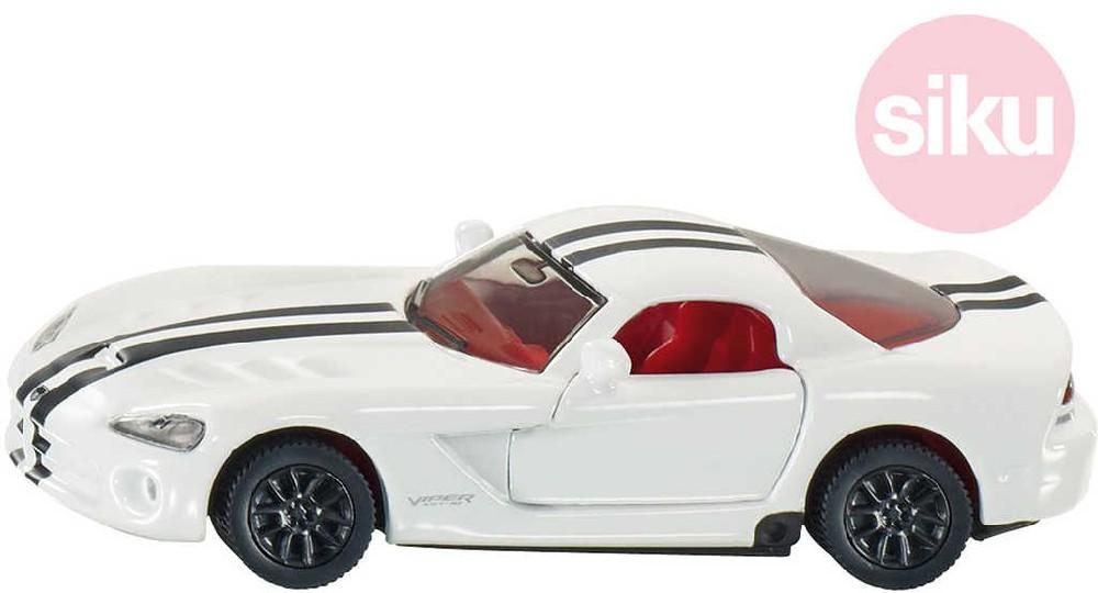 SIKU Auto osobní Dodge Viper 8cm závodnička model 1:55 kov 1434