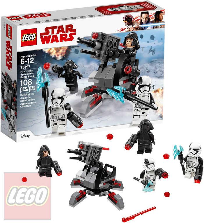 LEGO STAR WARS Oddíl speciálních jednotek Prvního řádu STAVEBNICE 75197