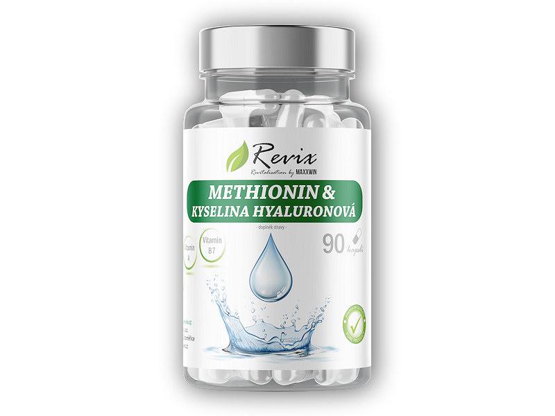 Methionin + Kyselina hyaluronová 90 kapslí