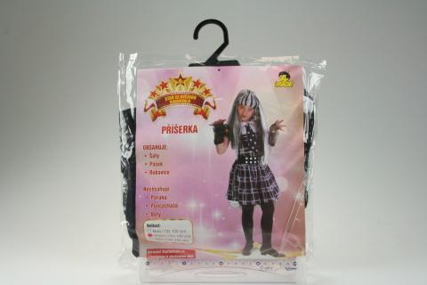 Šaty na karneval - Příšerka, 120-130 cm