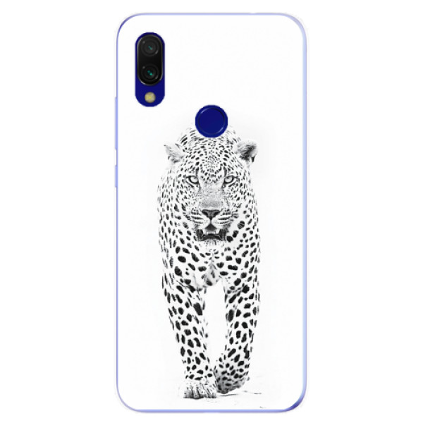 Odolné silikonové pouzdro iSaprio - White Jaguar - Xiaomi Redmi 7