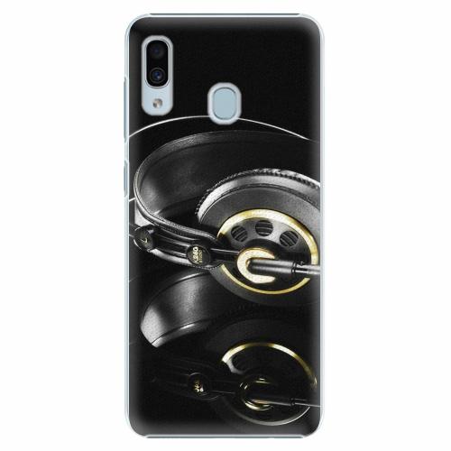 Plastový kryt iSaprio - Headphones 02 - Samsung Galaxy A30