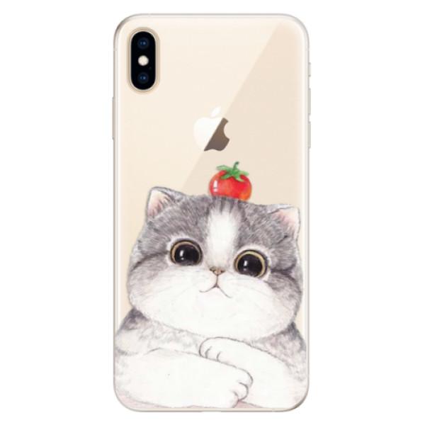 Silikonové pouzdro iSaprio - Cat 03 - iPhone XS Max
