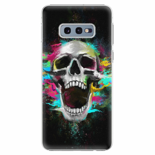 Plastový kryt iSaprio - Skull in Colors - Samsung Galaxy S10e