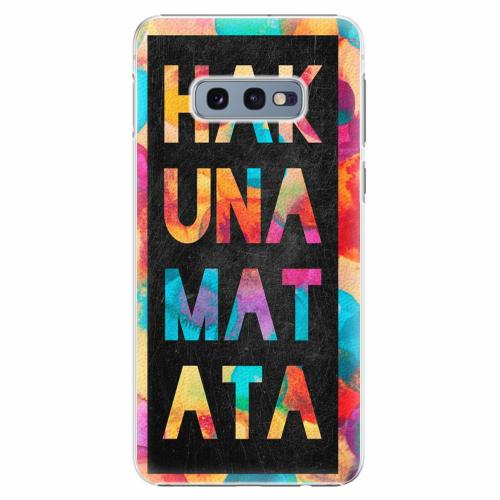 Plastový kryt iSaprio - Hakuna Matata 01 - Samsung Galaxy S10e