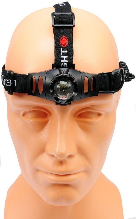 Svítilna čelovka 3W 100lm (ZOOM)