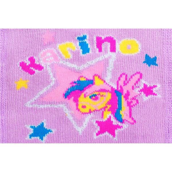 Bavlněné punčocháčky New Baby 3xABS fialové karino