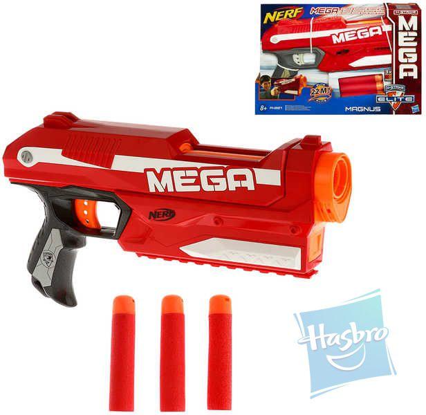 HASBRO NERF ELITE Mega Pistole N-Strike Set s náboji