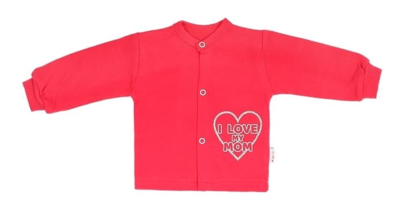 Mamatti Novozenecká bavlněná košilka, kabátek Hearts