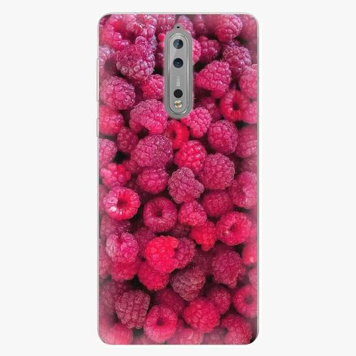 Plastový kryt iSaprio - Raspberry - Nokia 8