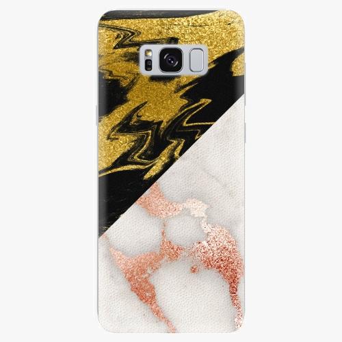 Plastový kryt iSaprio - Shining Marble - Samsung Galaxy S8 Plus