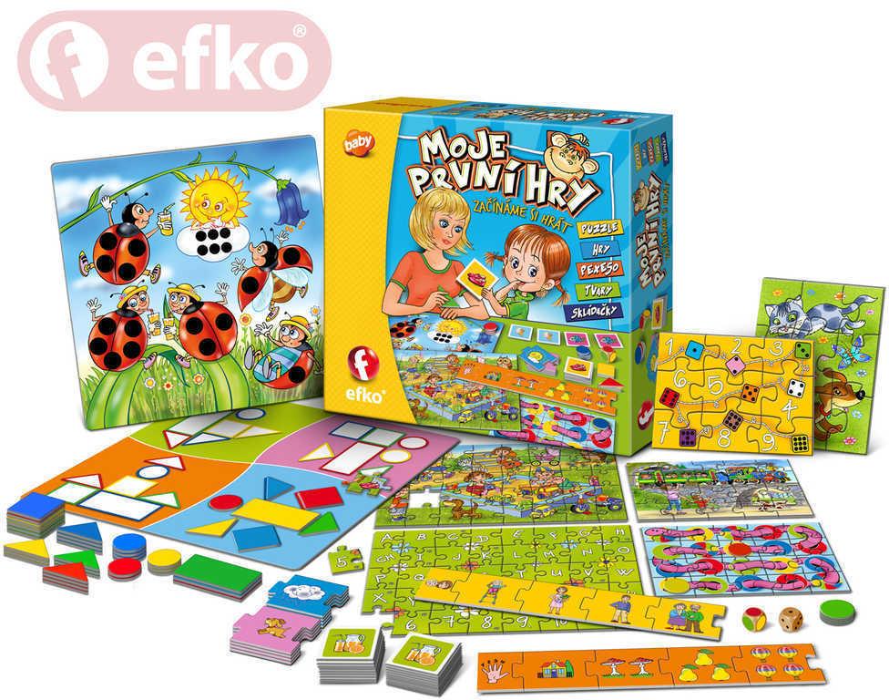 EFKO Moje první hry soubor her pro nejmenší děti