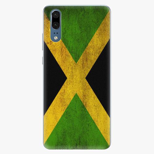 Silikonové pouzdro iSaprio - Flag of Jamaica - Huawei P20