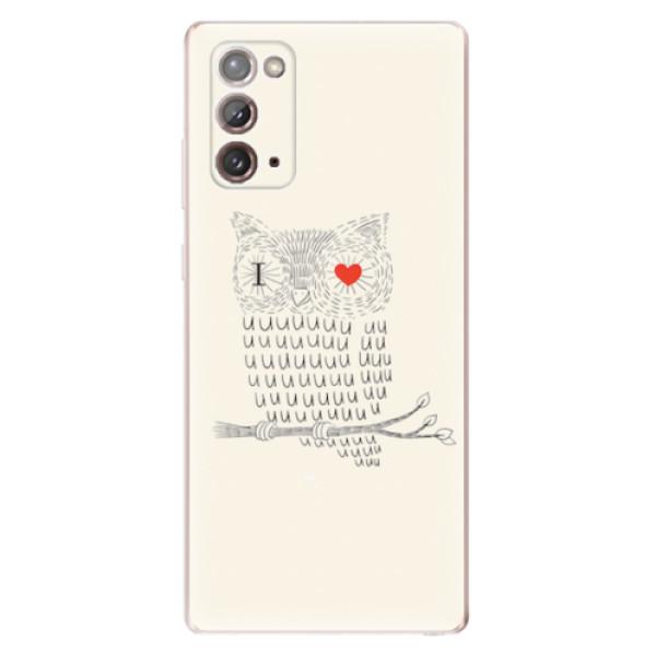 Odolné silikonové pouzdro iSaprio - I Love You 01 - Samsung Galaxy Note 20