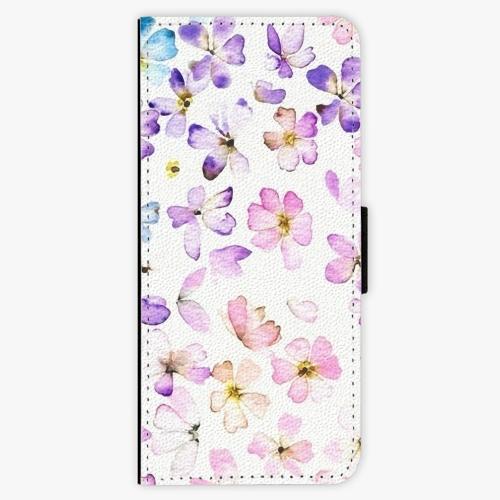 Flipové pouzdro iSaprio - Wildflowers - Samsung Galaxy J3 2016