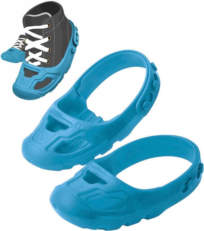 BIG Ochranné dětské návleky na botičky vel.21-27 protiskluzové modré 1 pár