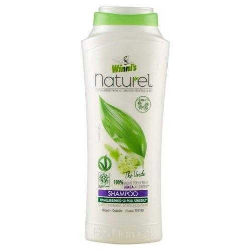 WINNIS Naturel šampon se zeleným čajem a kaštanem 250 ml