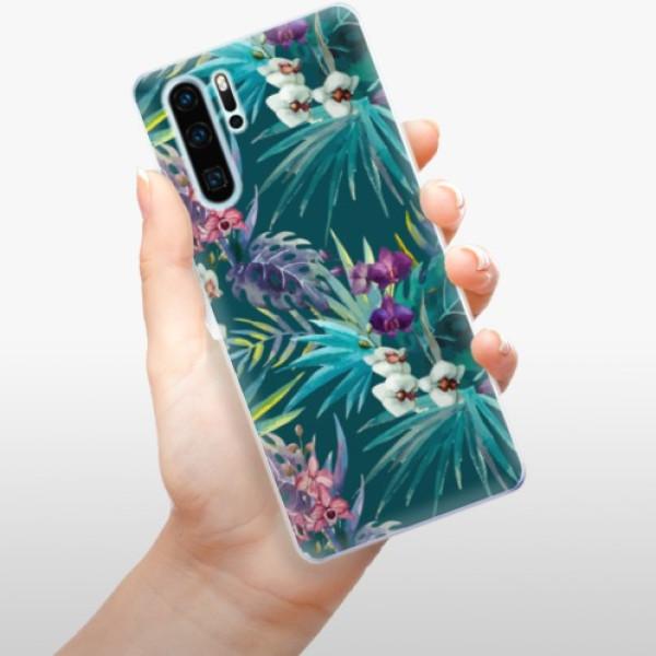 Odolné silikonové pouzdro iSaprio - Tropical Blue 01 - Huawei P30 Pro