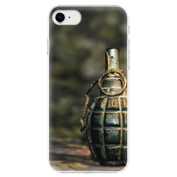 Plastové pouzdro iSaprio - Grenade - iPhone SE 2020