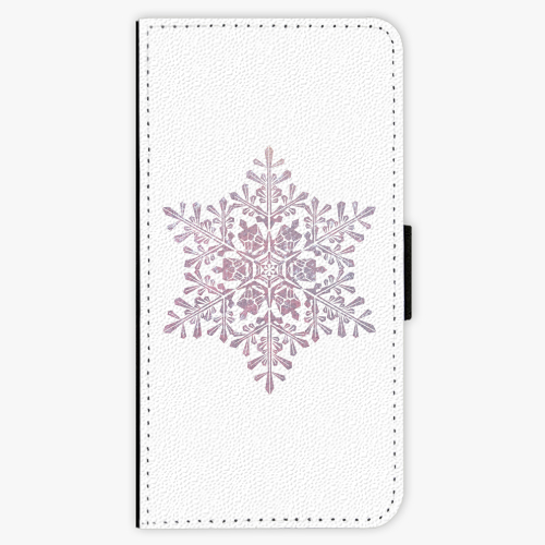 Flipové pouzdro iSaprio - Snow Flake - iPhone 8