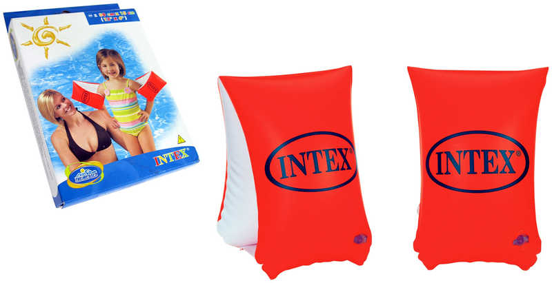 INTEX Rukávky dětské nafukovací 30x15cm plavací křidélka do vody 58641