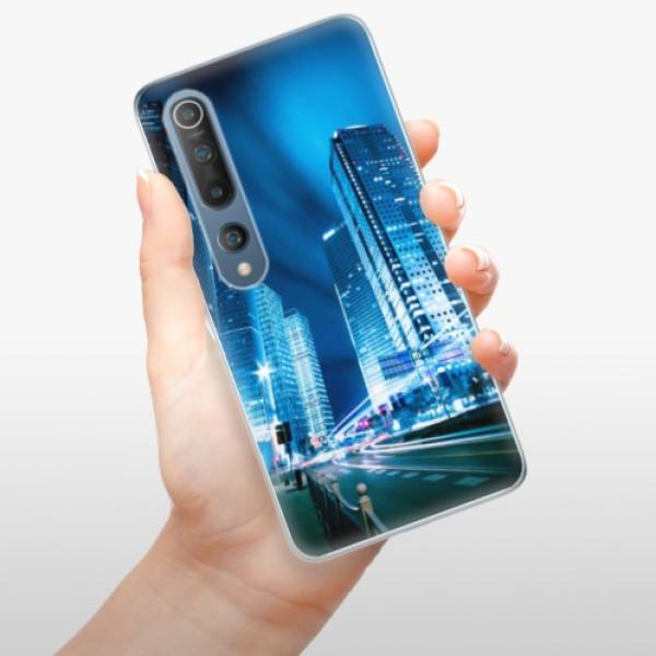 Odolné silikonové pouzdro iSaprio - Night City Blue - Xiaomi Mi 10 / Mi 10 Pro