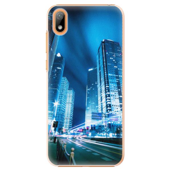 Plastové pouzdro iSaprio - Night City Blue - Huawei Y5 2019