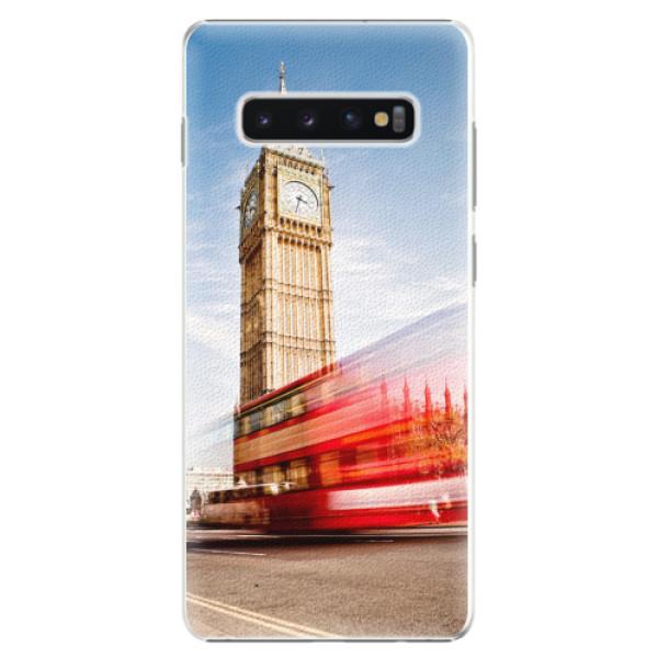 Plastové pouzdro iSaprio - London 01 - Samsung Galaxy S10+