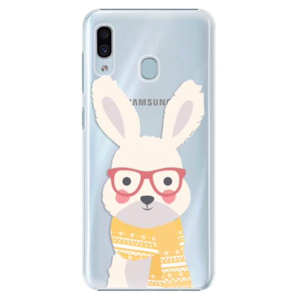 Plastové pouzdro iSaprio - Smart Rabbit - Samsung Galaxy A20