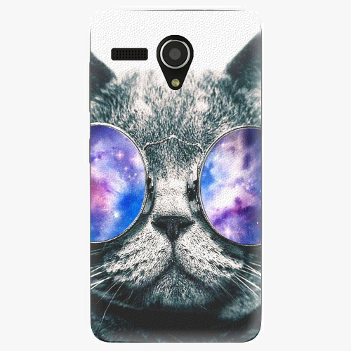 Plastový kryt iSaprio - Galaxy Cat - Lenovo A606