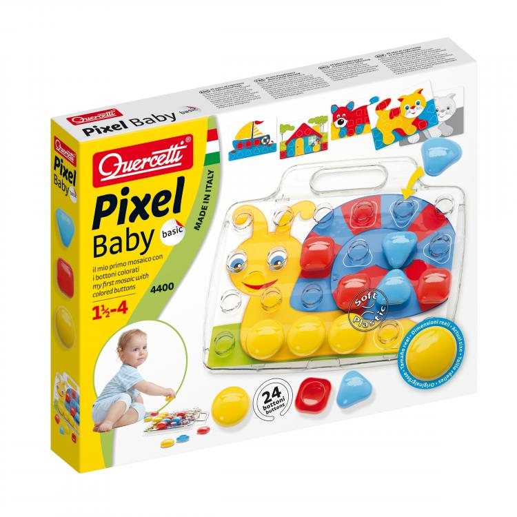 Quercetti Pixel Baby Basic 24 ks 4400