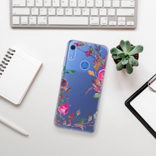 Odolné silikonové pouzdro iSaprio - Herbs 01 - Huawei Y6s