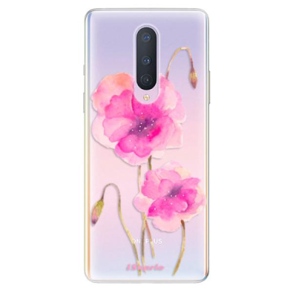 Odolné silikonové pouzdro iSaprio - Poppies 02 - OnePlus 8