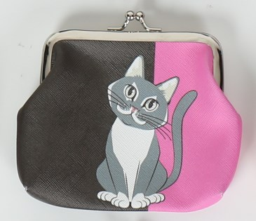 Portmonka - Mandala - Kočka