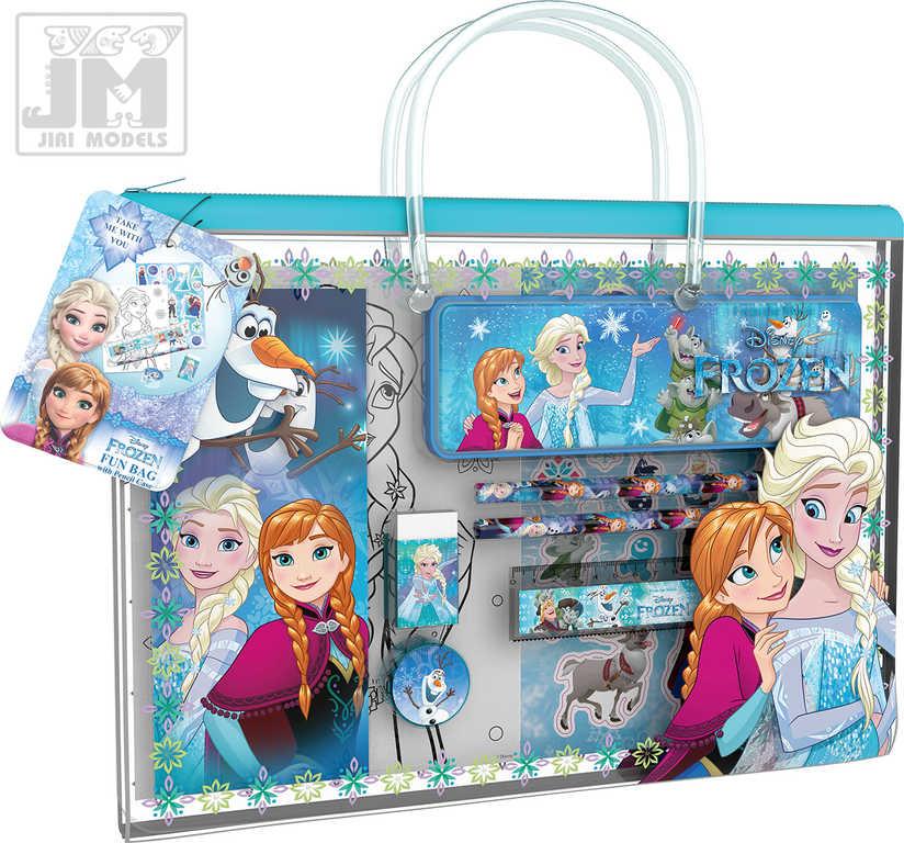 JIRI MODELS Taštička zábavná kreativní s penálem Frozen (Ledové Království)