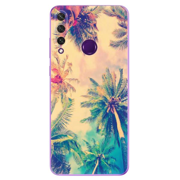 Odolné silikonové pouzdro iSaprio - Palm Beach - Huawei Y6p