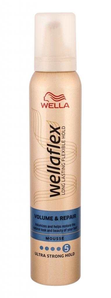 Wellaflex Volume & Repair Ultra Strong Hold ultra silné zpevnění pěnové tužidlo 200 ml