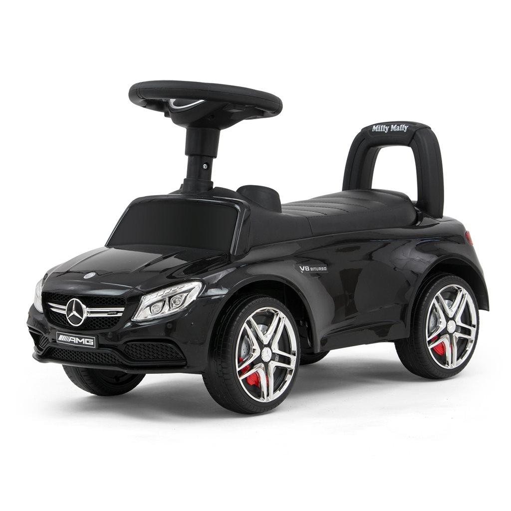 Odrážedlo Mercedes Benz AMG C63 Coupe Milly Mally - black - černá