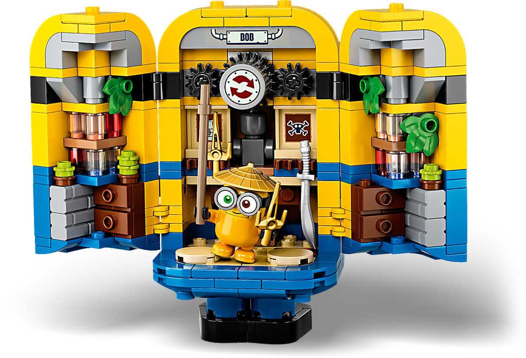 LEGO MINIONS Mimoni a jejich doupě 75551 STAVEBNICE