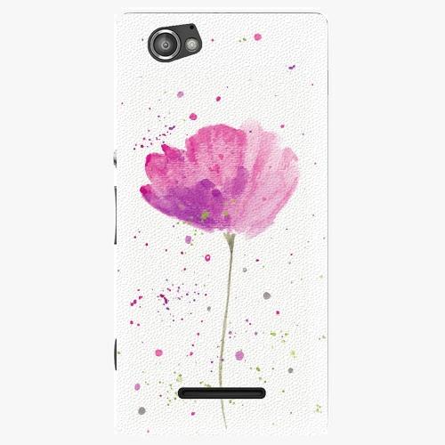Plastový kryt iSaprio - Poppies - Sony Xperia M