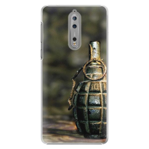 Plastové pouzdro iSaprio - Grenade - Nokia 8
