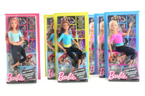 Barbie V pohybu DHL81