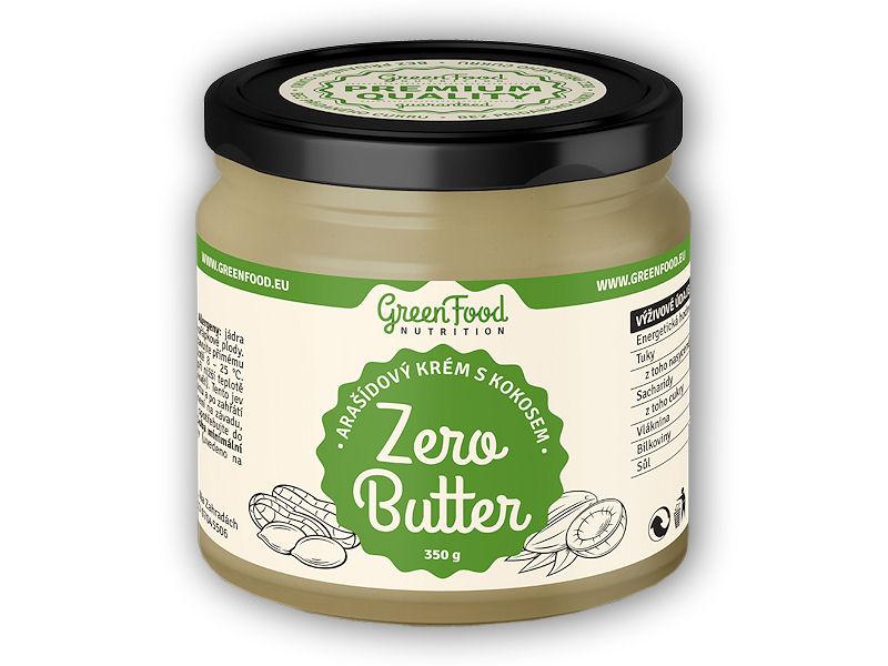 Zero Butter <b>arašídový</b> krém kokos 350g