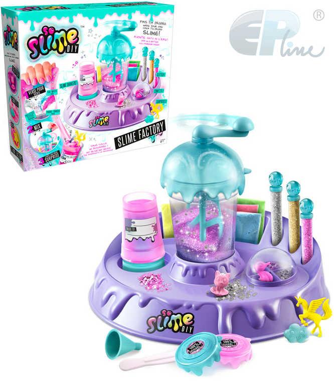 EP Line So Slime továrna na sliz kreativní set s shakerem a figurkami pro holky